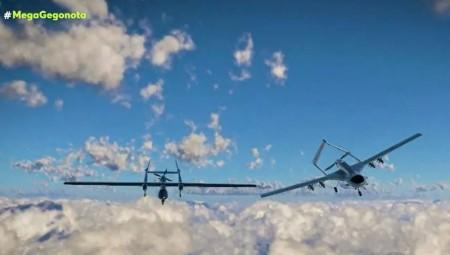 Αποκλειστικό MEGA: Πρώτη ελληνοτουρκική «αερομαχία» με drones πάνω από το Αιγαίο (video)
