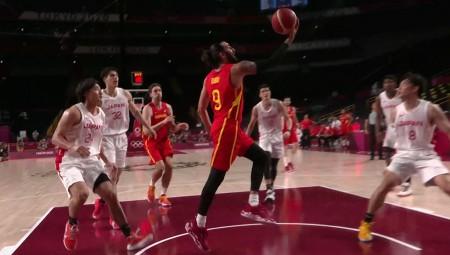 Ολυμπιακοί Αγώνες | Μπάσκετ: Άνετα οι Ισπανοί με σούπερ Ρούμπιο (video)
