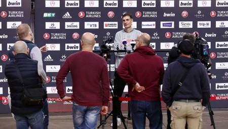 Ολυμπιακός   Μπάσκετ: Media Day LIVE ενόψει Ευρωλίγκας! (streaming)