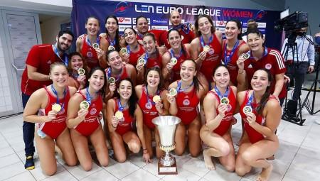 LEN Euroleague: Τα γκρουπ και πότε μπαίνει ο Θρύλος (photo)