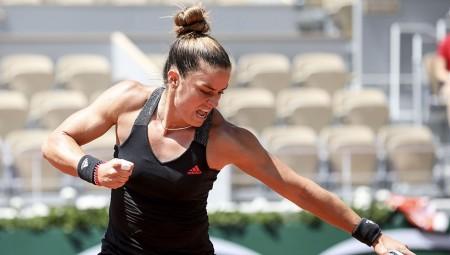 Άνεμος η Σάκκαρη, στα ημιτελικά του US Open! (video/photo)
