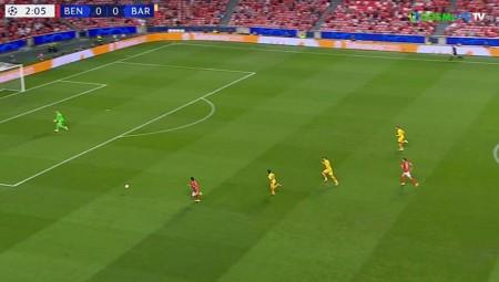 Champions League: Μπενφίκα - Μπαρτσελόνα 1-0 στο 3'! (video)