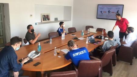 Ολυμπιακός | Ακαδημία: Αναπτύσσει και την ανάλυση! (photos)