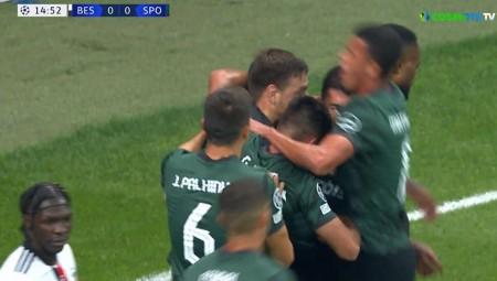 Μπεσίκτας-Σπόρτινγκ: Ματσάρα με 4 γκολ στο ημίχρονο!! (videos)