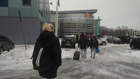 Πρωινό χαλάρωμα στην χιονισμένη Ρίγα (pics)