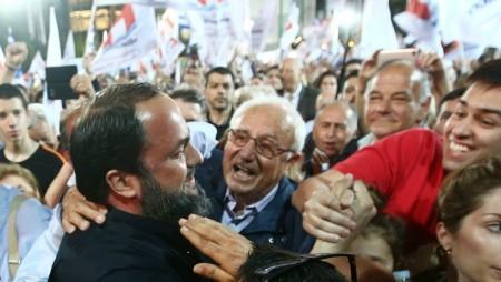 Αποθεώθηκε ο Βαγγέλης Μαρινάκης στο Πασαλιμάνι! (pics)