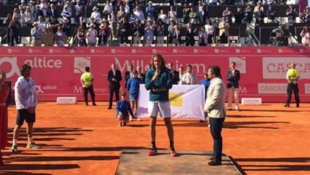 Κατέκτησε και το Estoril Open ο Τσιτσιπάς!