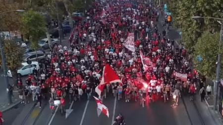 Το εντυπωσιακό βίντεο με την κοινή πορεία Θύρας 7 και Delije! (vid)