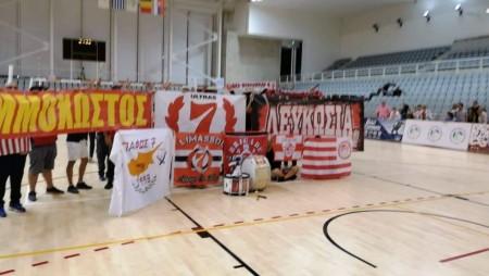 20 χρόνια ζωής γιορτάζει ο σύνδεσμος του Ολυμπιακού στη Λάρνακα!