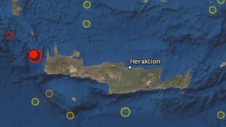 Σεισμός 6,1 Ρίχτερ μεταξύ Κυθήρων και Κρήτης!