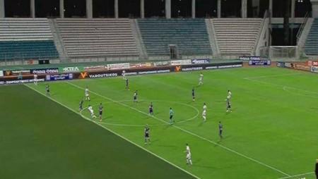 ΑΠΟΚΛΕΙΣΤΙΚΟ: Η εικόνα που είδε ο Ευαγγέλου στο γκολ του Σουντανί! (photo)