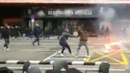 Επεισόδια πριν το Βαλένθια-Μπαρτσελόνα, τέσσερα ματς κεκλεισμένων ο Ολυμπιακός!