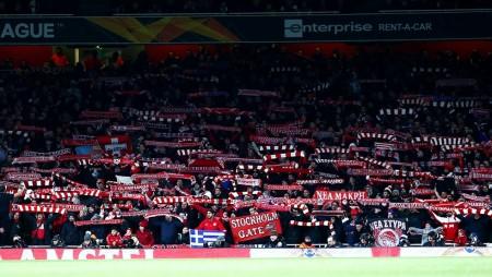 Με κόσμο εκτός έδρας ξανά, μετά το Emirates!! (videos)