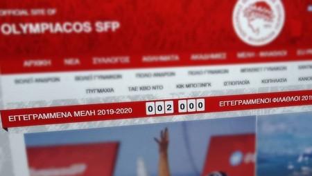 «Φτάσαμε αισίως τις 2.000 εγγραφές Μελών!»