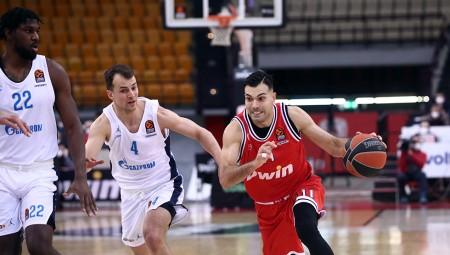 Άλμπα-Ολυμπιακός 80-84 (Τελικό)