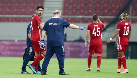 Η στιγμή του τραυματισμού του Μπουχαλάκη (video)