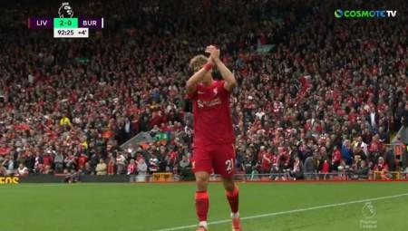 Τσιμίκας: Αποθέωση στο Anfield! (video)