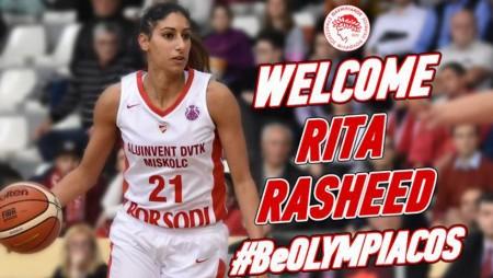 Στον Ολυμπιακό η Ρίτα Ρασίντ