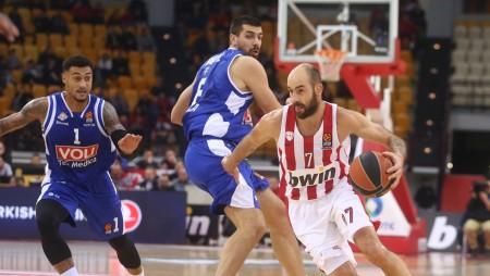 ΟΛΥΜΠΙΑΚΟΣ – Μπούντουτσνοστ 92-70 (τελικό)