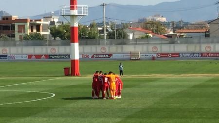 ΟΛΥΜΠΙΑΚΟΣ Κ19- Παναθηναϊκός Κ19 3-1 (τελικό)