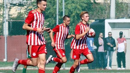 ΟΛΥΜΠΙΑΚΟΣ Κ15 - ΑΕΚ Κ15 2-0 (τελικό)