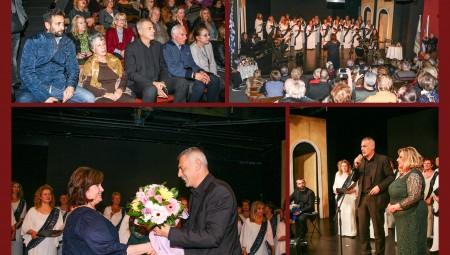 Ο Γιάννης Μώραλης στην εκδήλωση του Συνδέσμου Νέου Φαλήρου