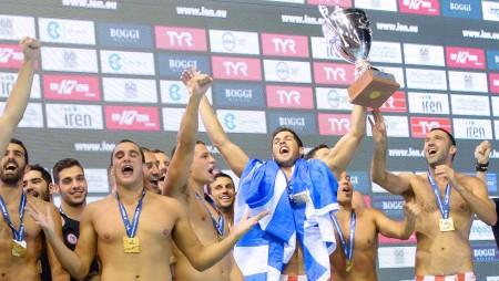 Αποθέωση για τους πρωταθλητές Ευρώπης!