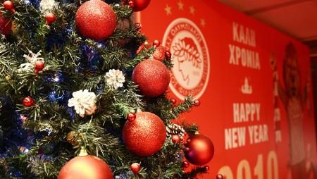 Η Χριστουγεννιάτικη γιορτή του Ολυμπιακού (vid)