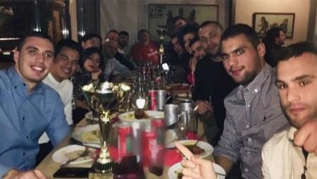 Το δείπνο των Πρωταθλητών Ελλάδας