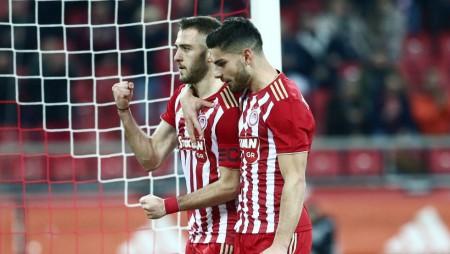 ΟΛΥΜΠΙΑΚΟΣ - ΑΕΛ 4-0 (τελικό)