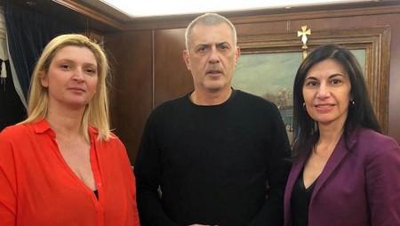 Υποψήφια με τον Γιάννη Μώραλη η Δέσποινα Βαρβαλούκα