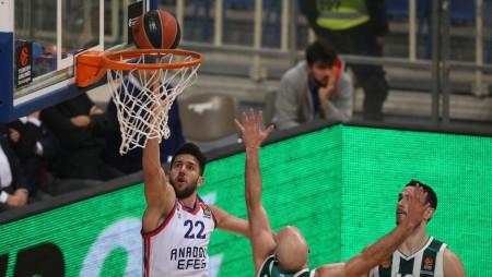 Παρέμεινε μία νίκη πίσω από την Εφές ο Ολυμπιακός
