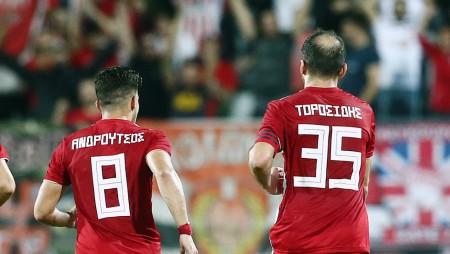 Τοροσίδης και Ανδρούτσος για την επιτυχία της Κ17 του Θρύλου! (pics)