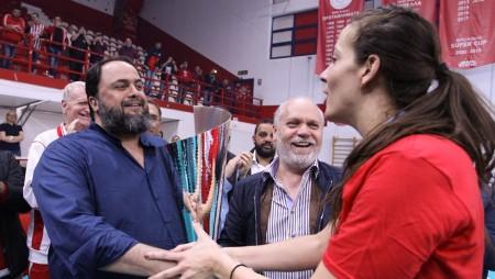 «Ο Βαγγέλης Μαρινάκης και ο Μιχάλης Κουντούρης μας έχουν οδηγήσει σε όλες μας τις επιτυχίες»