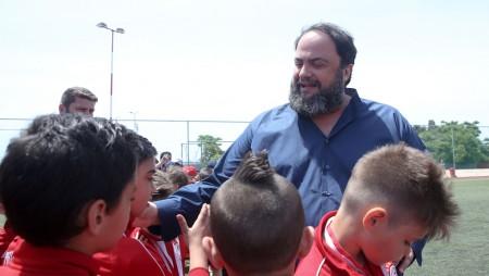 Με απόλυτη επιτυχία ολοκληρώθηκε το 8ο τουρνουά Σχολών Ολυμπιακού (pics,vid)