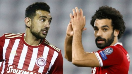 Ο Χασάν συνεχάρη τον Σαλάχ για το Champions League! (pic)