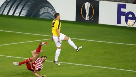Στα 20 καλύτερα γκολ του Europa League Χριστοδουλόπουλος και Ντίας