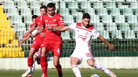 ΟΛΥΜΠΙΑΚΟΣ - Λέγκια Γκντανσκ 1-1 (Τελικό)