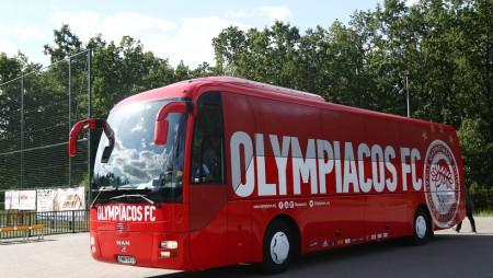 Με τρίωρη καθυστέρηση στην Αυστρία ο Ολυμπιακός...