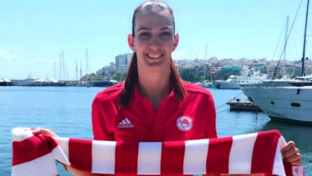 «Περήφανη που θα είμαι στον Ολυμπιακό για 5η σερί χρονιά»