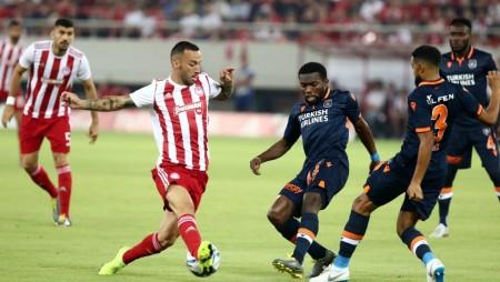 ΟΛΥΜΠΙΑΚΟΣ-Μπασακσεχίρ 2-0 (Τελικό)