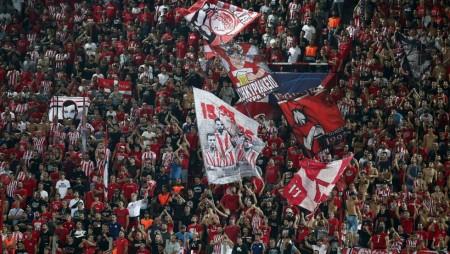 Συνεχίζεται η διάθεση των εισιτηρίων για το ματς με τον Αστέρα Τρίπολης