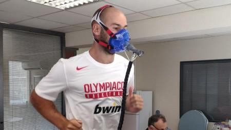Εργομετρικά για τους παίκτες του Ολυμπιακού!