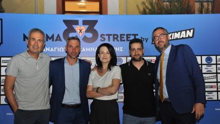 Συνέντευξη τύπου MESMA 3x3 STREET