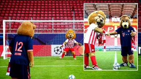 Έπαιξαν... μπάλα Leone και Berni! (pics)