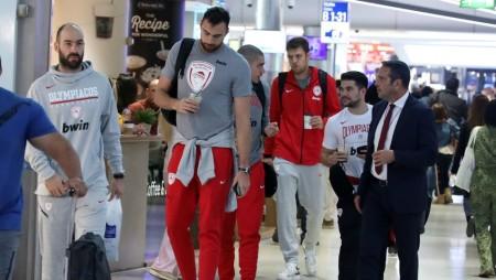 Αναχώρησε για τη Βιτόρια ο Ολυμπιακός! (pics)