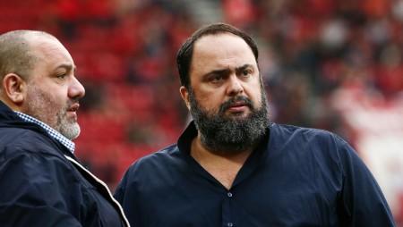 Δίπλα στην ομάδα για μία ακόμη φορά ο Βαγγέλης Μαρινάκης!