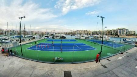 Παίζουμε τένις στον Ολυμπιακό (pic)