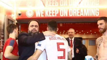 Μοίρασε συγχαρητήρια ο Βαγγέλης Μαρινάκης! (pics)