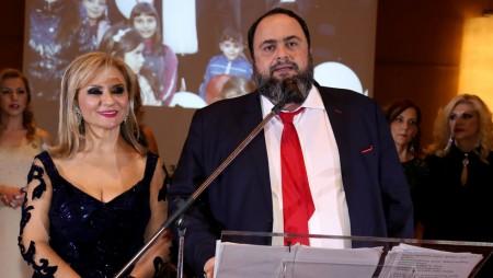 Η βράβευση του Βαγγέλη Μαρινάκη για το μεγάλο φιλανθρωπικό του έργο (video)